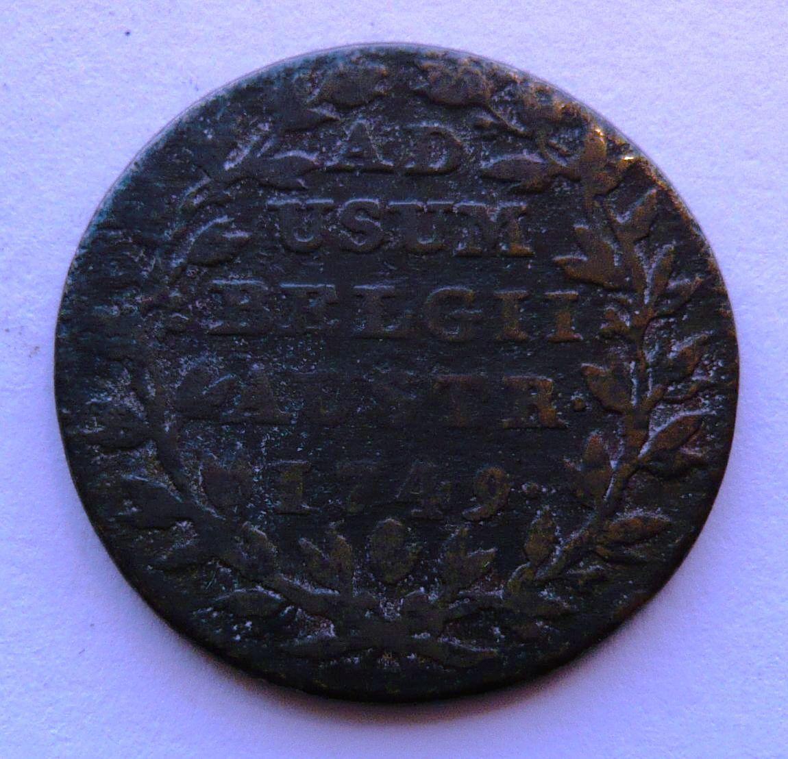 Rakousko 2 Liard 1749 M.Terezie