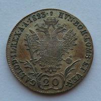 Rakousko 20 Krejcar 1823 A František II.