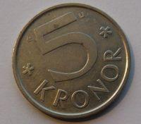 Švédsko 5 Korun 1978
