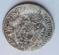 Tyroly HALL 3 Krejcar 1728 Karel VI.
