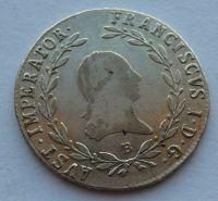 Uhry 20 Krejcar 1818 B František II.