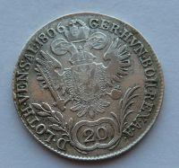 Uhry B 20 Krejcar 1806 František II.