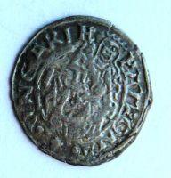 Uhry KB Denár 1571 Maxmilián II.