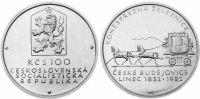 100 Kčs(1982-Koněspřežná železnice), stav 1+/0