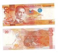 20Peso(2014-Filipíny), stav UNC