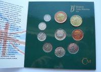 Ročníková sada oběžných mincí ČR (1996-UEFA), stavy 0/0
