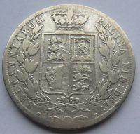 Anglie 1/2 Cronen 1885 Viktorie