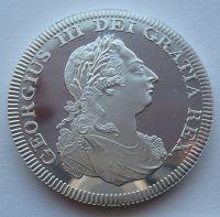 Anglie Crown KOPIE 1808 Jiří III.