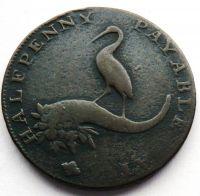 Anglie TOKEN 1792