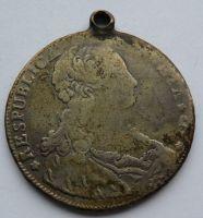 Benátky DUKATON 1795 Luc. Manin
