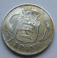 Dánsko 1 Krone 1892