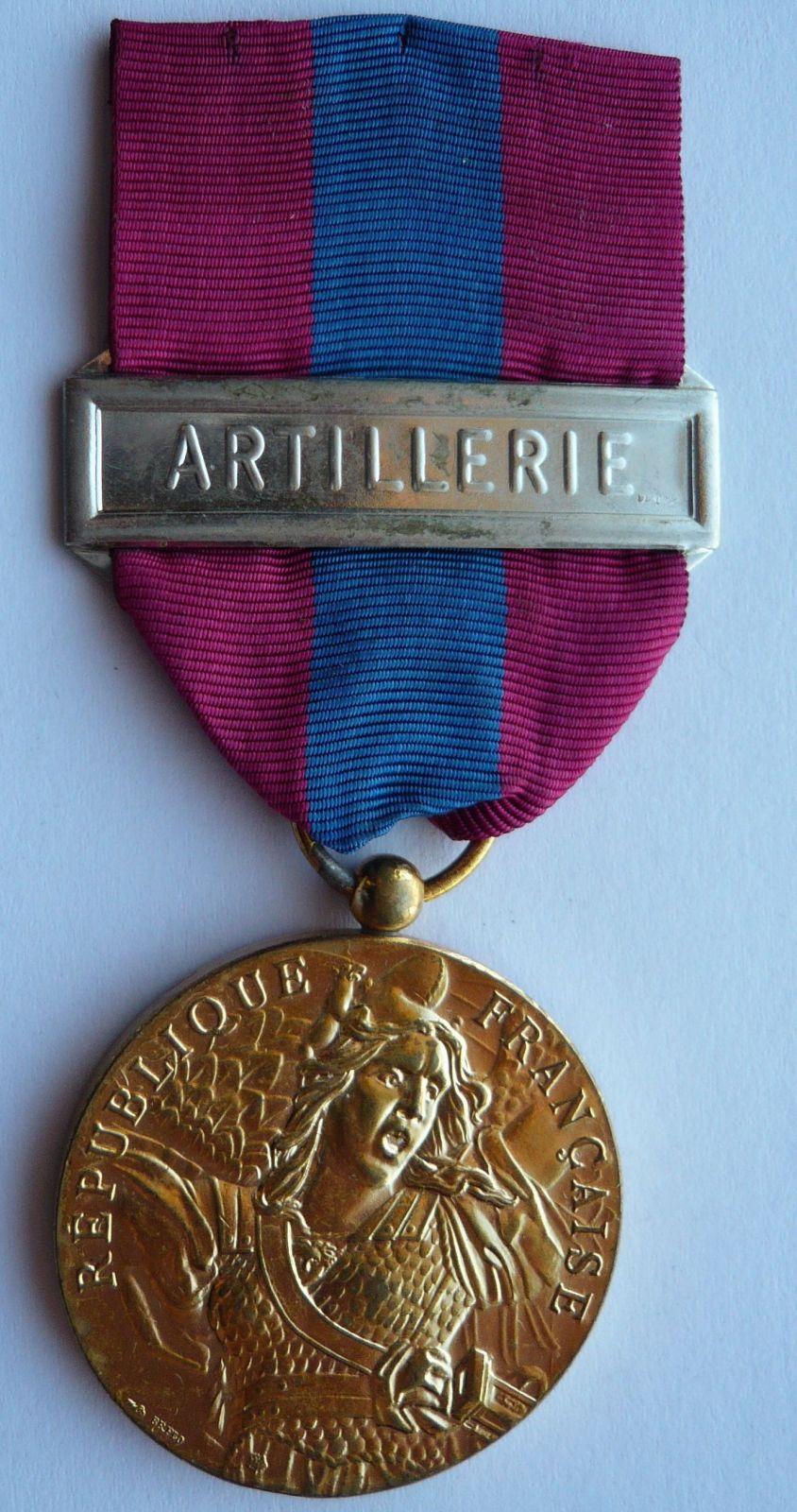 Francie dělostřelectvo - za zásluhy