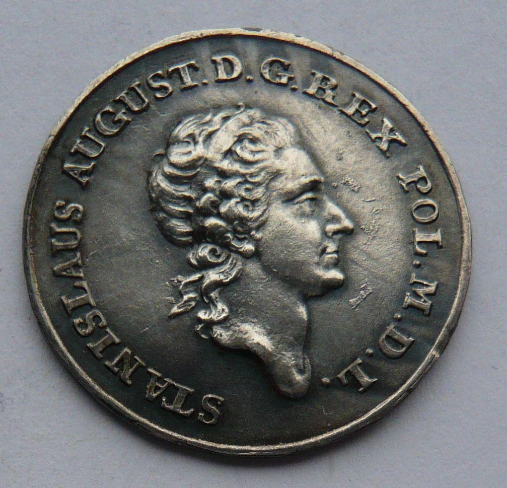 Polsko 1/4 Tolar 1771 Stanislav August - KOPIE