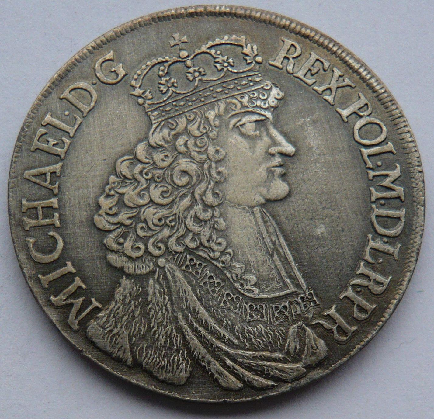 Polsko Tolar 1671 Michael - KOPIE