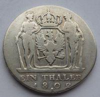 Prusko A Tolar 1802 Frid. Wilhelm
