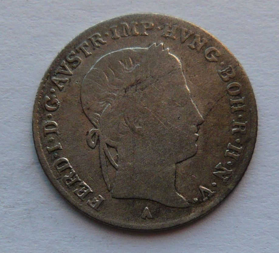 Rakousko 5 Krejcar 1839 A Ferdinand V.