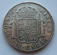 Španělsko Real KOPIE 1790 Carol IV.