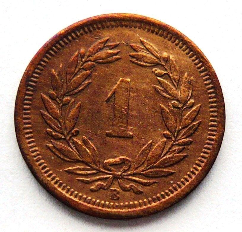 Švýcarsko 1 Rap 1905