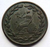 Anglie 1/2 TOKEN 1813 Jiří III.