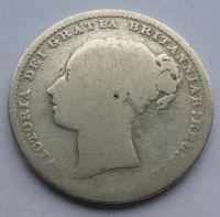 Anglie Schilling 1880 Viktorie