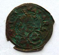 Benátky AE - 20 17.stol. postava světce benát. lev