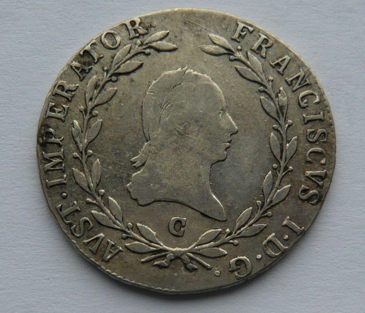 Čechy - C 20 Krejcar 1809 František II.