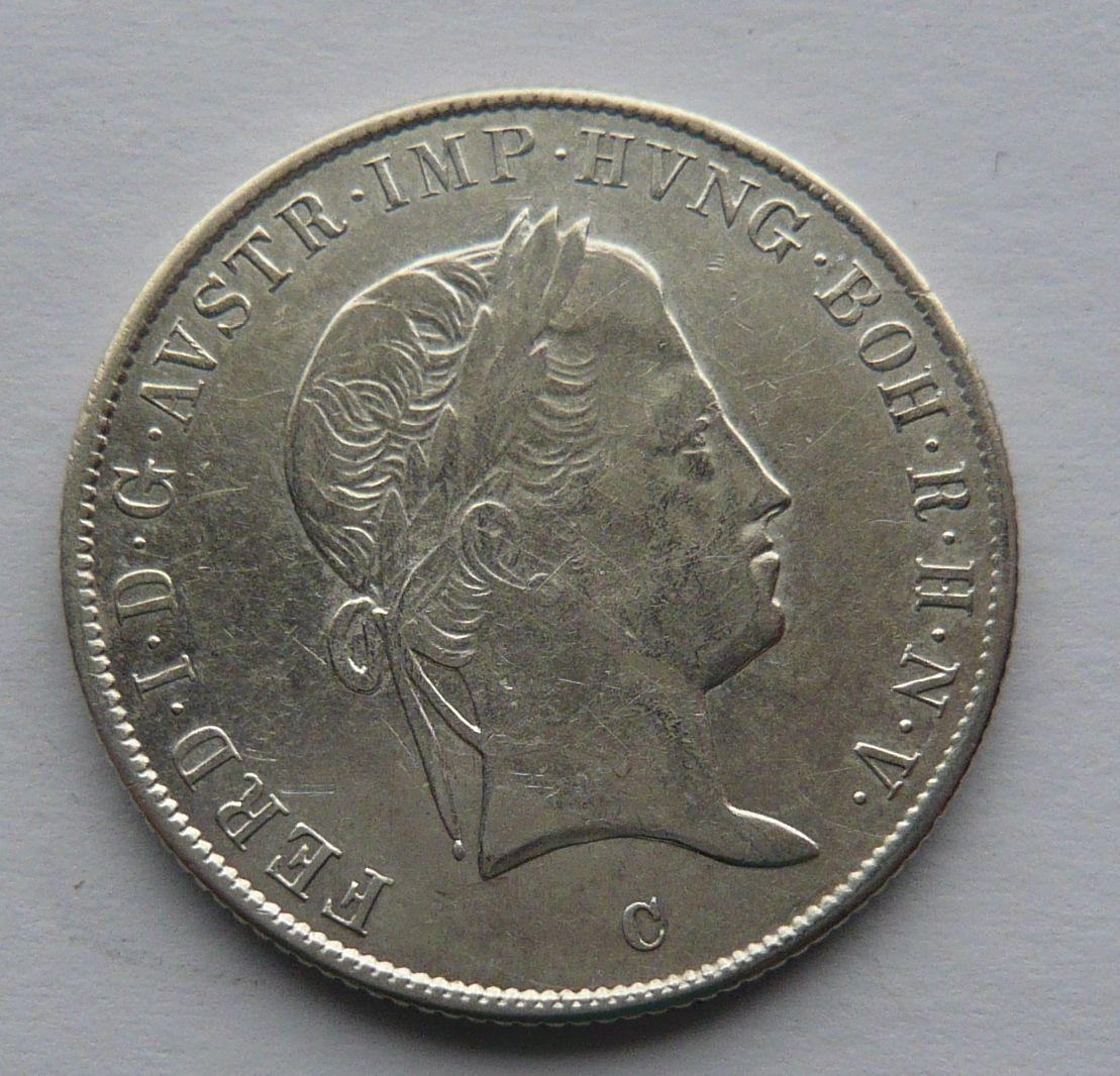 Čechy - C 20 Krejcar 1845 Ferdinand V.
