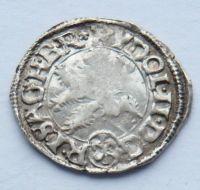 Čechy K.Hora malý Groš 1609 Rudolf II.