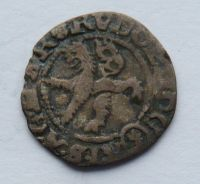 Čechy malý Groš 1582 Rudolf II.