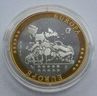 Holandsko - Ag. medaile na vstup do sjednocené Evropy