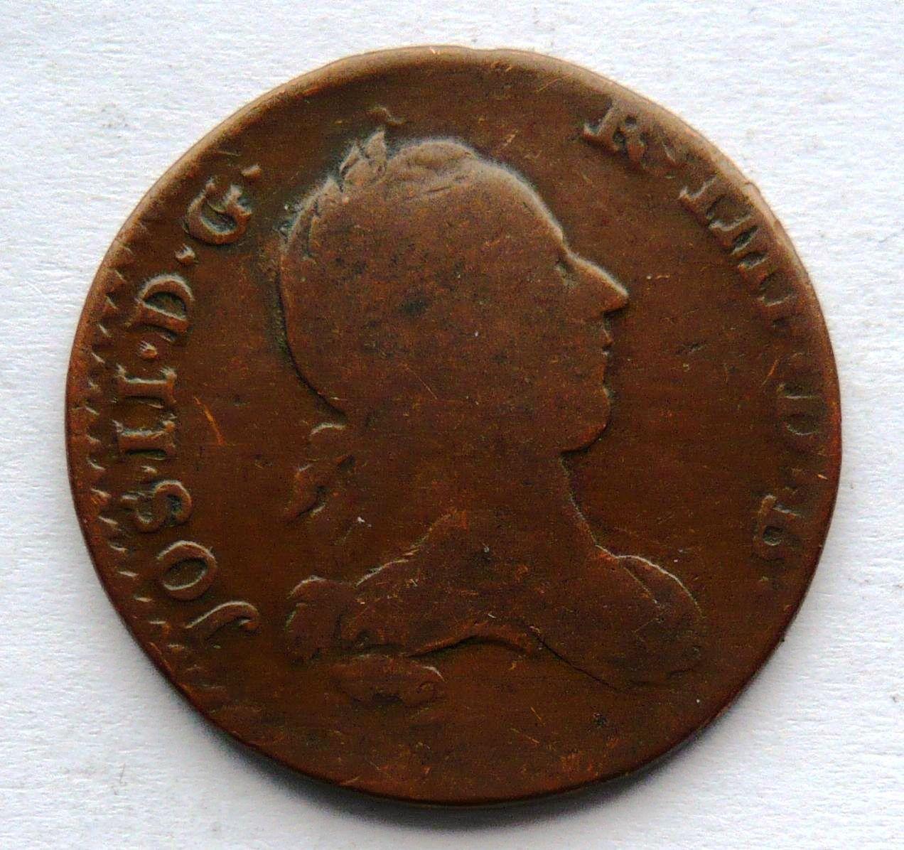 Rak. Niz. 2 Liard 1789 Josef II.