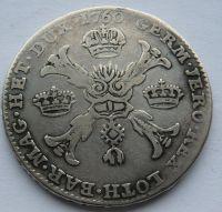 Rakouské Nizozemí Tolar křížový 1760