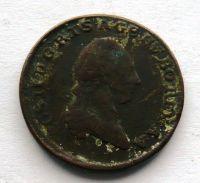 Rakousko 1 Krejcar 1781 Josef II.