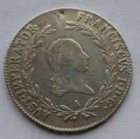Rakousko A 20 Krejcar 1824 František I.