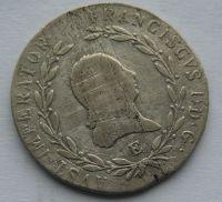 Rakousko E 20 Krejcar 1824 František I.