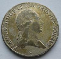 Rakousko M Tolar 1794 křížový stopy zlacení František II.
