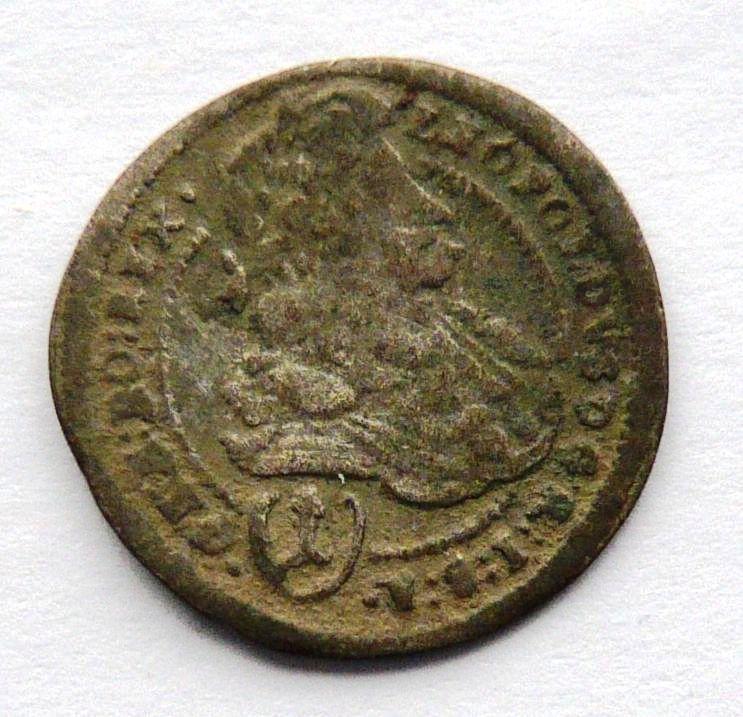 Rakousko sv. Vít 1 Krejcar 1698 Leopold I.