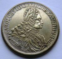 Rakousko Tolar 1721 Karel VI. tzv. CIKÁNSKÝ, KOPIE
