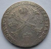 Rakousko Tolar křížový 1767 Marie Terezie