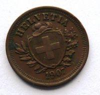 Švýcarsko 1 Rap 1907