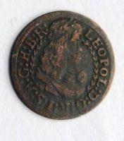 Tyroly Hall 1 Krejcar bez let. 1657-1705 Leopold I.