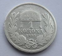 Uhry 1 Koruna 1893 KB