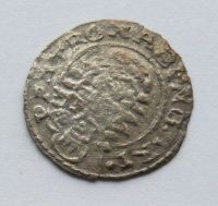 Uhry Denár bez letopočtu Matyáš II. 1612-1619