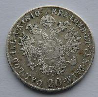 Čechy 20 Krejcar 1840 Ferdinand V.