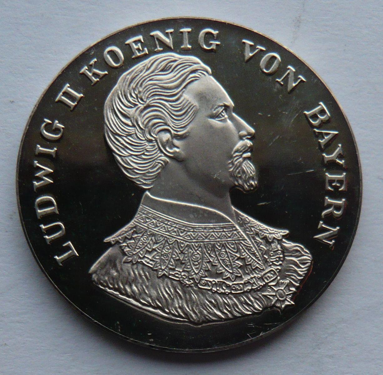 Bavorsko Ag med. Ludwig II.