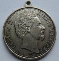 Bavorsko Ludvík II. 1886