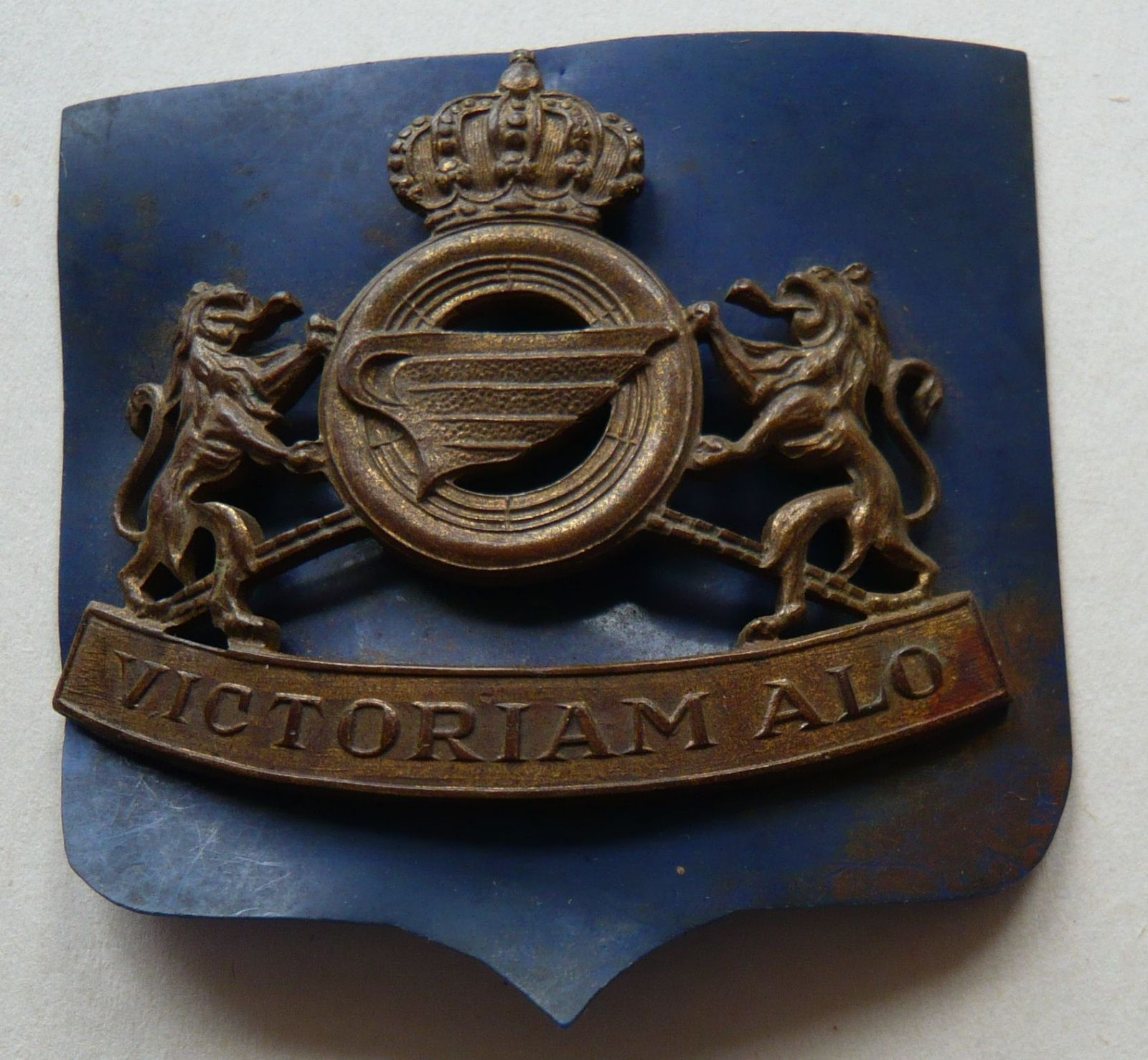Belgie čepic.odznak královské gardy