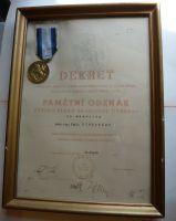 ČSR - 30 pěší pluk A. Jiráska + dekret