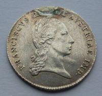 Rakousko žeton na prohlášení císařem František II. 1804