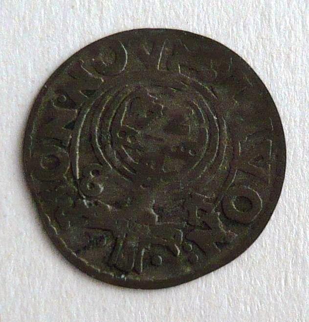 Švédsko 1/2 4 Tolaru 1648 Kristína